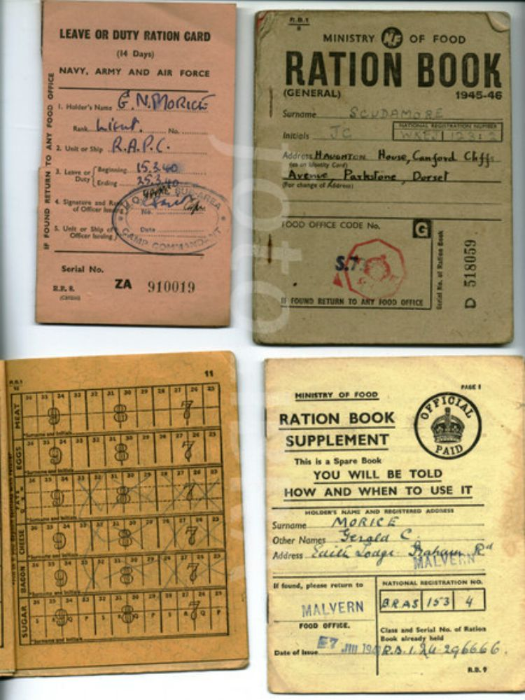 wwii ration books