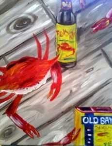 old bay crab lg